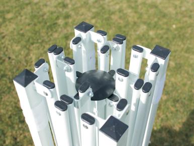 Nůžkový stánek 3x3m, bílý